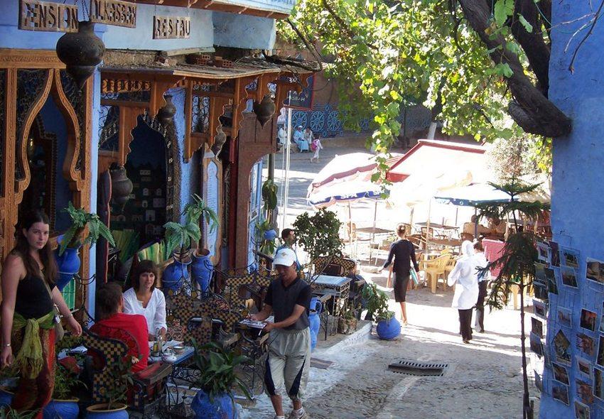 Chefchaouen - ein Ort der Ruhe und Entspannung (Bild: Csörföly D, Wikimedia, GNU)