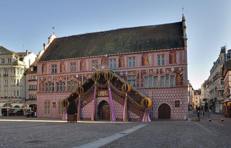 Rathaus von Mühlhausen (Bild: Wladyslaw, Wikimedia, Lizenz Freie Kunst)