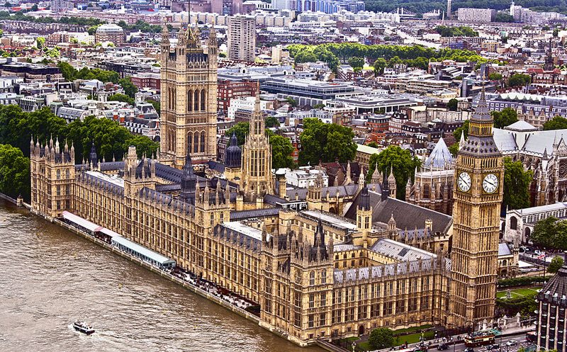 Palace of Westminster und Big Ben in London (Bild: asimpatel, Wikimedia, CC)