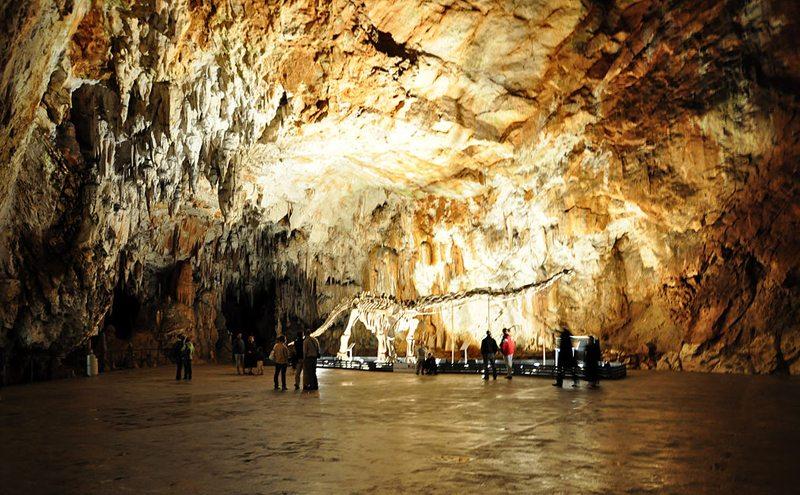Das Höhlensystem von Postojna ist weltberühmt. (Bild: Janos Korom Dr., Wikimedia, CC)