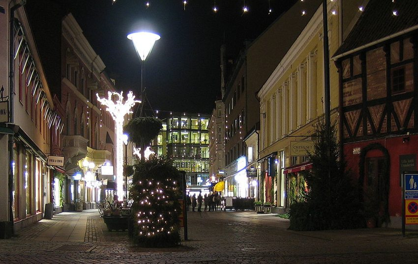 Weihnachtsstimmung in Malmö (Bild: jorchr, Wikimedia, CC)