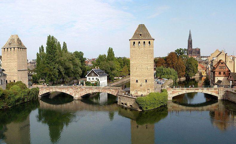 Ponts Couverts in Strassburg (Bild: Didier B, Wikimedia, GNU)