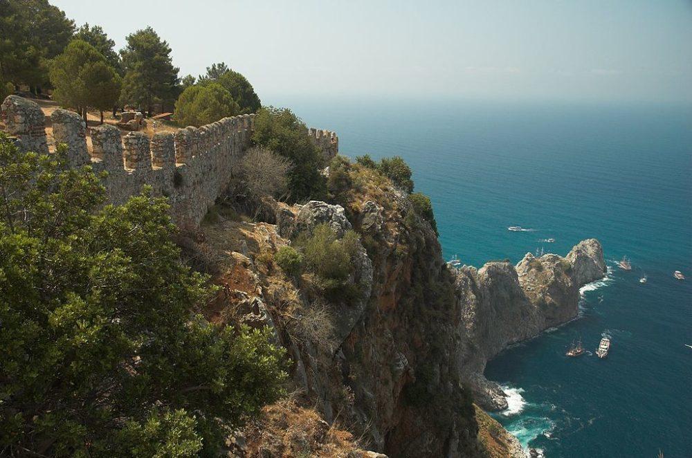 Überreste von Alanyas alter Festungsmauer (© Timo / Wikimedia / CC)