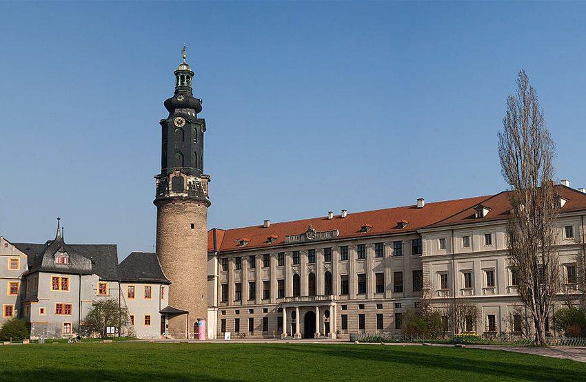 Weimarer Stadtschloss (Bild: Maros M r a z, Wikimedia, CC)