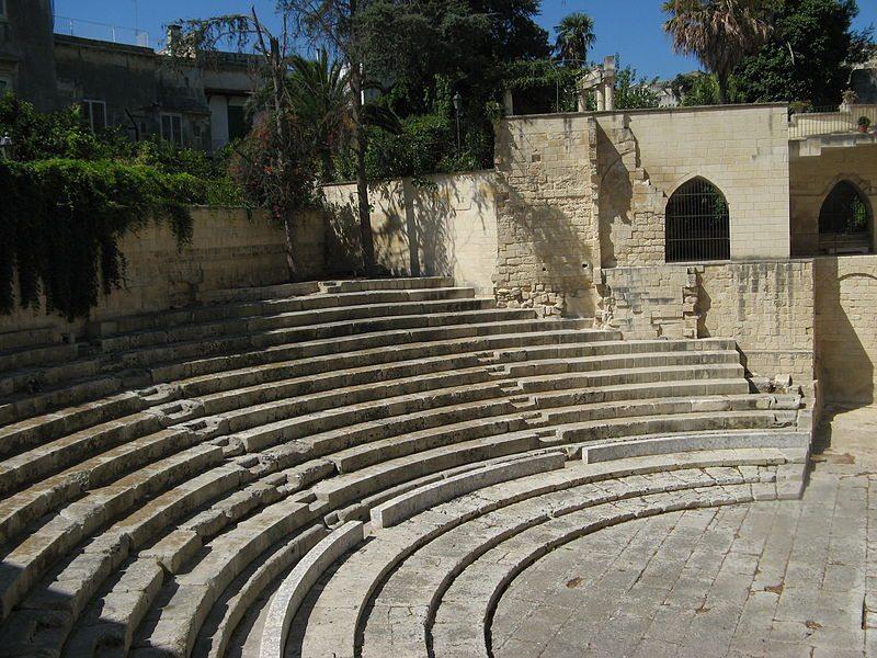 Römisches Theater in Lecce (© Filippo Caranti / Wikimedia / CC)