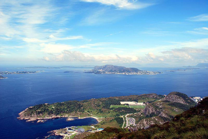 Halbinsel Tueneset mit dem Aquarium Atlantikpark (© GangerRolf / Wikimedia / CC)