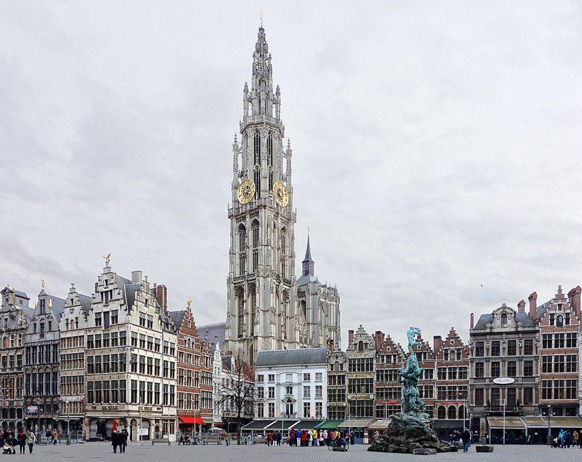 Liebfrauenkathedrale in Antwerpen (Bild: Velvet, Wikimedia, CC)