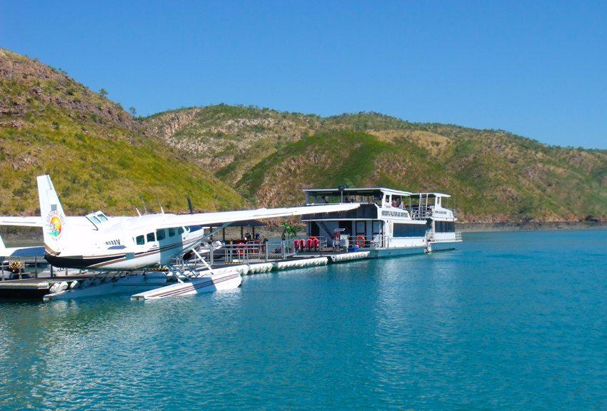 Die Horizontal Falls Seaplane Adventures Station in Talbot Bay (Bild: Rainer Hitzler - www.briefvogelservice.de)