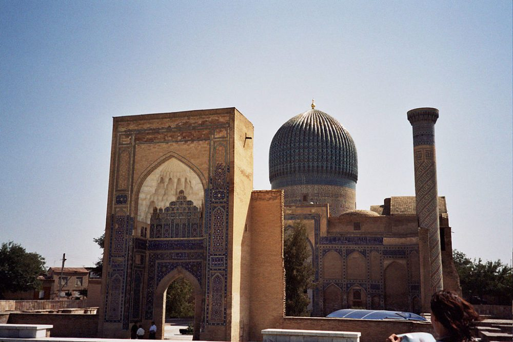 Monumentale Grabstätte: das Gur-Emir-Mausoleum (© upyernoz / Wikimedia / CC) Smarkand