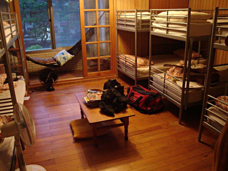 Schlafsaal im Hostel (© Let99 / Wikimedia / CC)