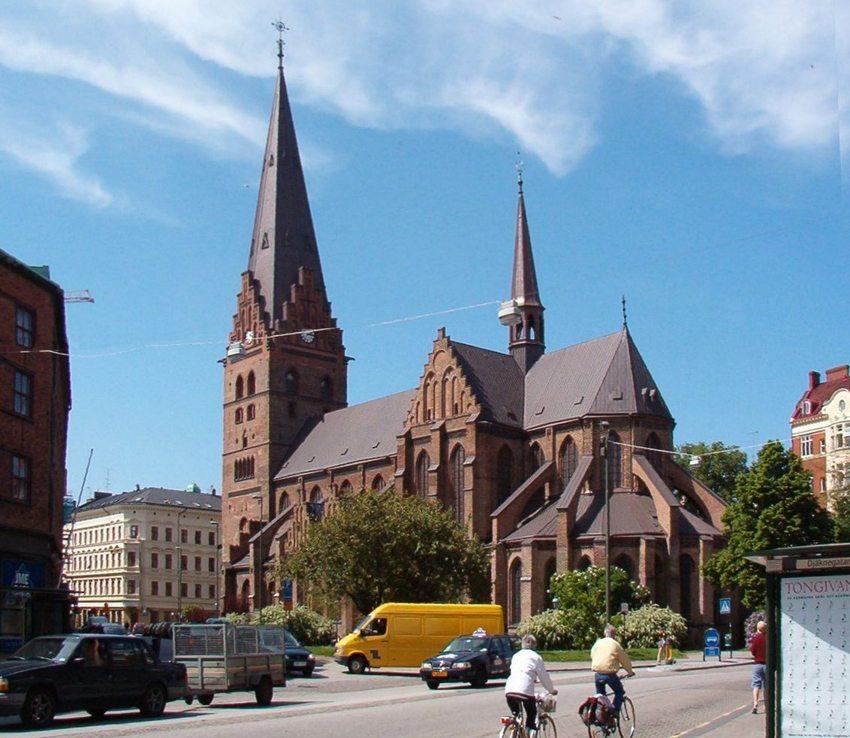 St. Petri Kyrka in Malmö (Bild: Fred J, Wikmedia, CC)