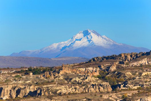 Kappadokien ist eine alte Vulkanlandschaft. (Bild: © cobalt88 - shutterstock.com)