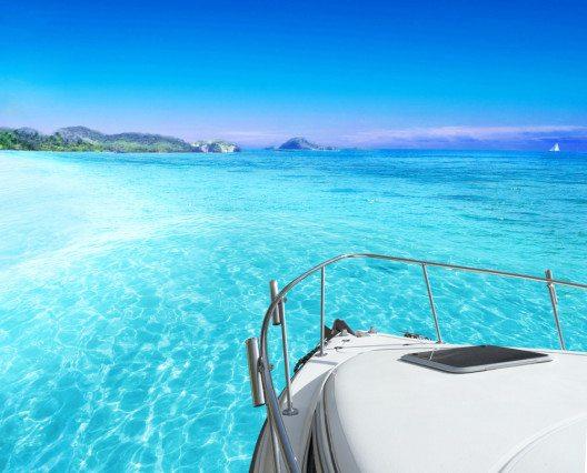 Direkt an der Hotelzone der Isla de Cancún liegen kleine Segel- und Jachthäfen. (Bild: © silvae - shutterstock.com)