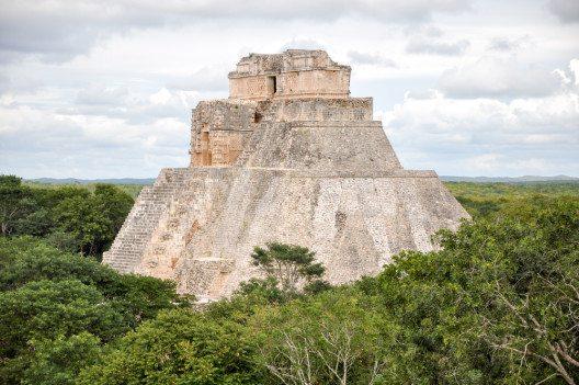 Der Maya Temple Uxmal (Bild: © rozbeh - shutterstock.com)
