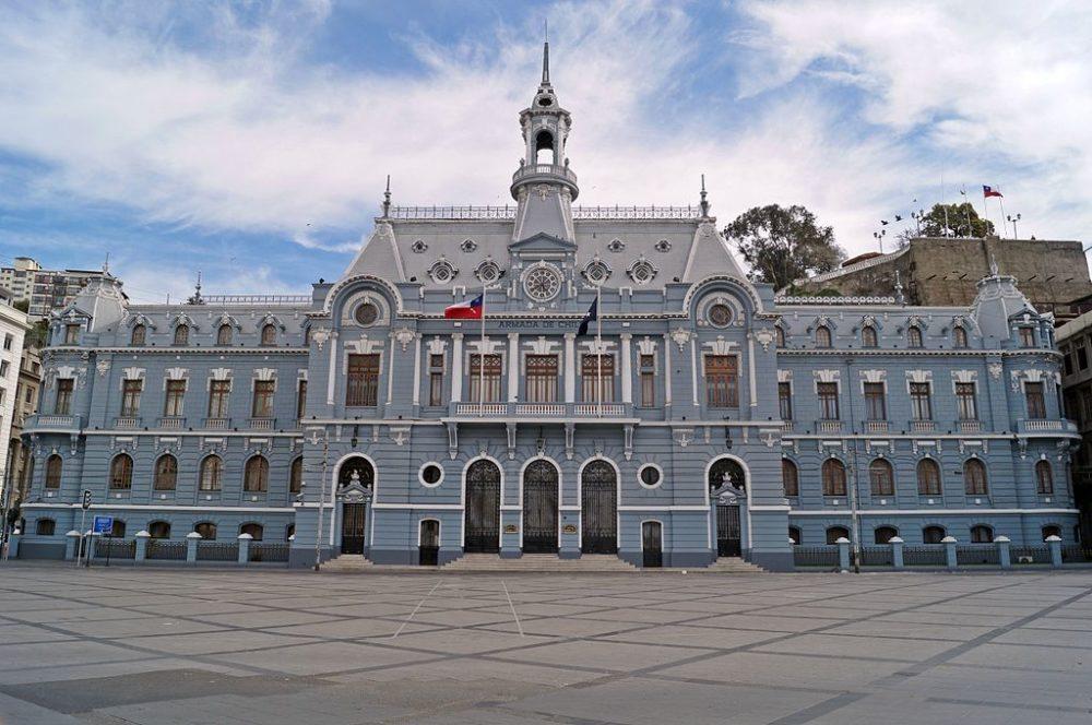 Ehemaliges Marine-Hauptquartier in Valparaíso (© Nereidas / Wikimedia / CC)