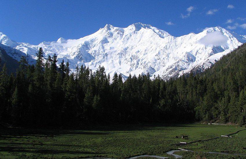 Der Nanga Parbat in Kaschmir ist mit 8125 m Höhe der neunthöchste Berg der Erde (Bild: Atif Gulzar, Wikimedia)