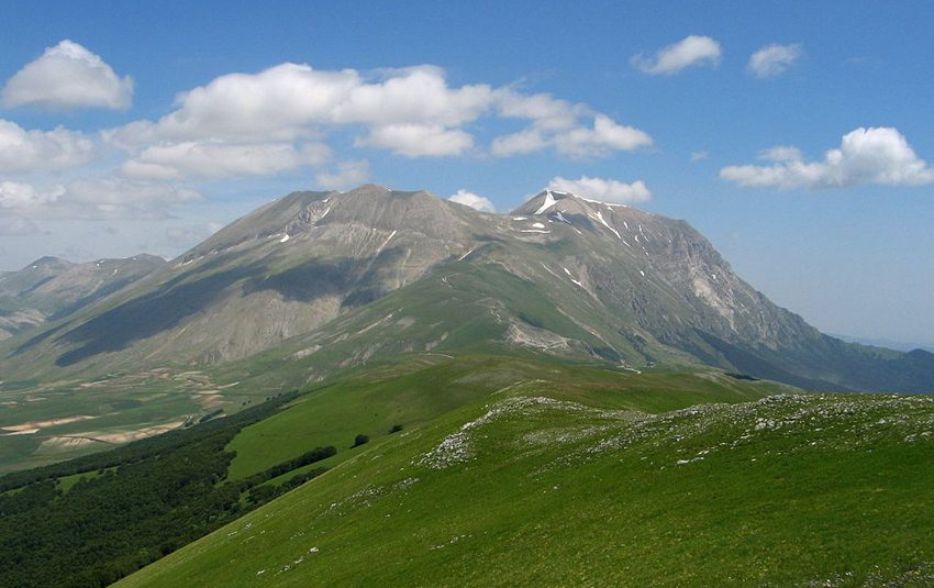 Monte Vettore (Bild: efftaylor@xwb.com, Wikimedia)