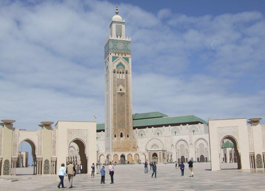 Hassan-II.-Moschee in Casablanca (Bild: ulrich grasberger / pixelio.de)
