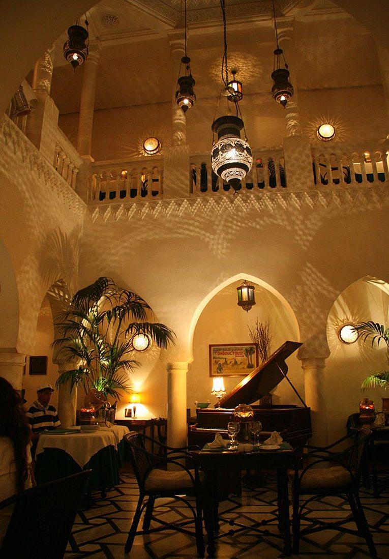 Rick's Café in Casablanca (Bild: Didier55, Wikimedia, CC)