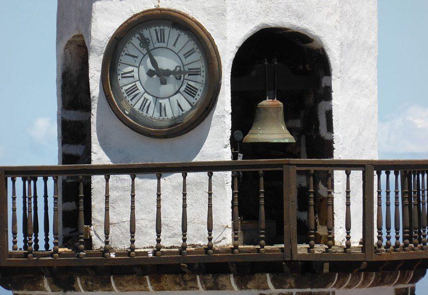Glockenturm der Kirche Concepción,  Villa de Valverde, El Hierro (Bild: CARLOS TEIXIDOR CADENAS, Wikimedia, CC)