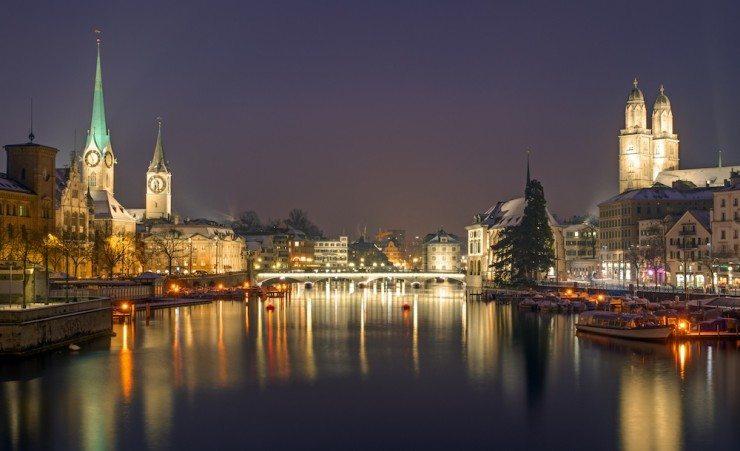 Traumziel Zürich: Die Limmatstadt ist eine pulsierende Kulturmetropole. (Bild: © elxeneize - Fotolia.com)