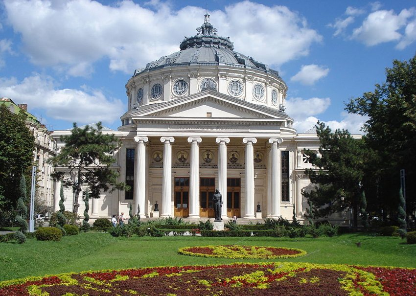 Atheneum – das wunderschöne Konzertsaal in Bukarest (Bild: Pixi, Wikimedia, CC)