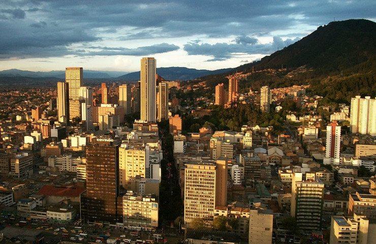 Stadtzentrum von Bogotá (© Pedro Felipe / Wikimedia / CC)
