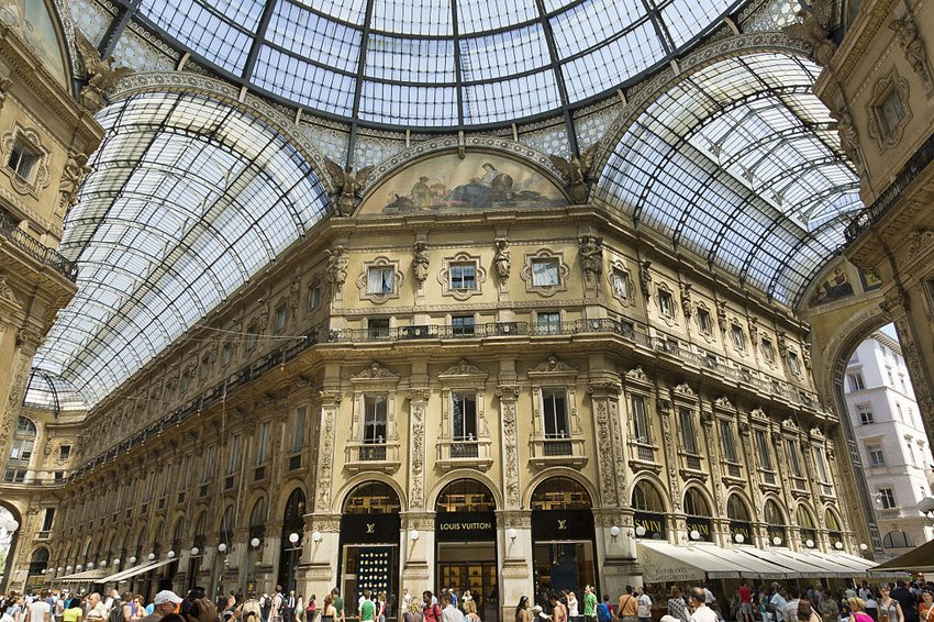 Galerie Vittorio Emanuele II in Mailand (Bild: Jean-Christophe BENOIST, Wikimedia, CC)