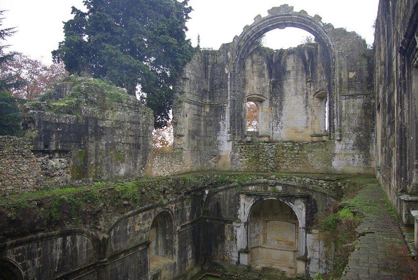 Überreste des Christusklosters in Tomar (Bild: Cegeste, Wikimedia, CC)