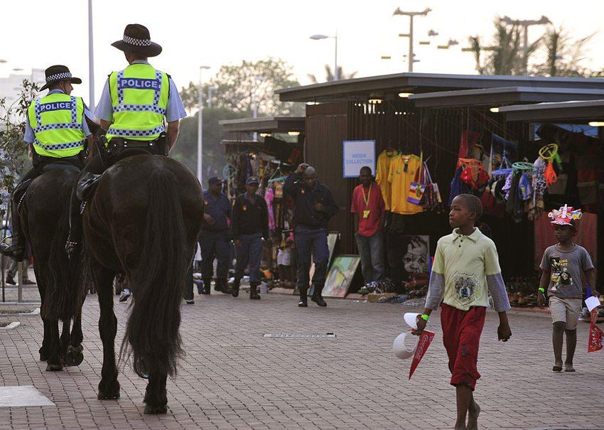 Auf den Strassen von Johannesburg (Bild: Marcello Casal Jr/ABr, Wikimedia, CC)