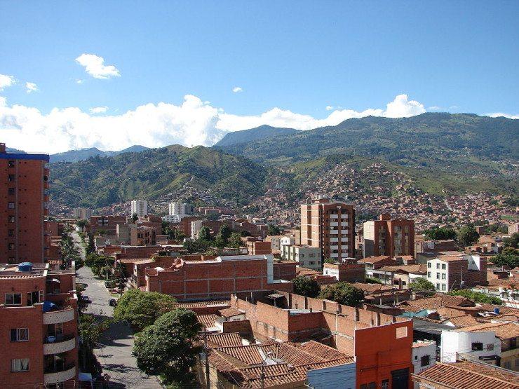 """Medellín, die """"Hauptstadt der Berge"""" (© I.D. R.J. / Wikimedia / CC)"""