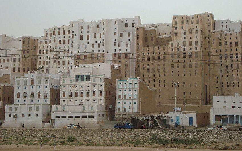Die Lehmhochhäuser von Schibam (Bild: Aiman titi, Wikimedia, CC)