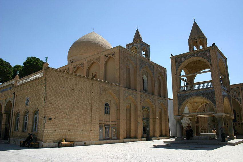 Vank-Kathedrale im armenischen Viertel Isfahans (Bild: Mike Gadd, Wikimedia, CC)