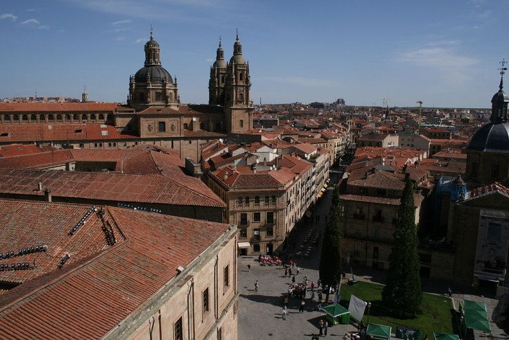 Blick auf die Altstadt von Salamanca (© Tamorlan / Wikimedia / CC)
