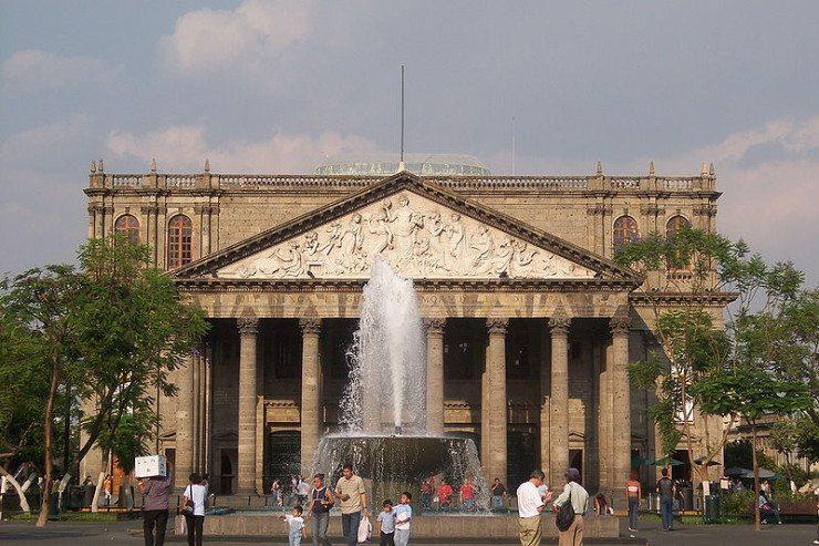 Stadttheater Teatro Degollado (© Christian Frausto Bernal / Wikimedia / CC)
