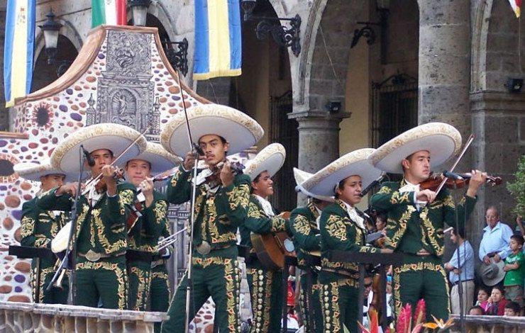 Mariachi-Gruppe in Guadalajara (© Gerardo Gonzalez / Wikimedia / CC)