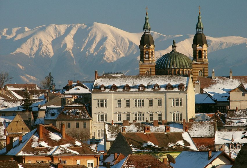 Panorama von Sibiu (Bild: CamilG, Wikimedia, CC)