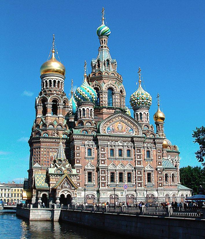Auferstehungskirche in St. Peterburg (Bild: Dionysus, Wikimedia, GNU)