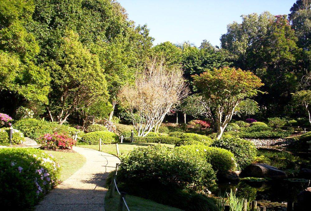 Japanischer Garten in Brisbane (Bild: Figaro, Wikimedia, CC)