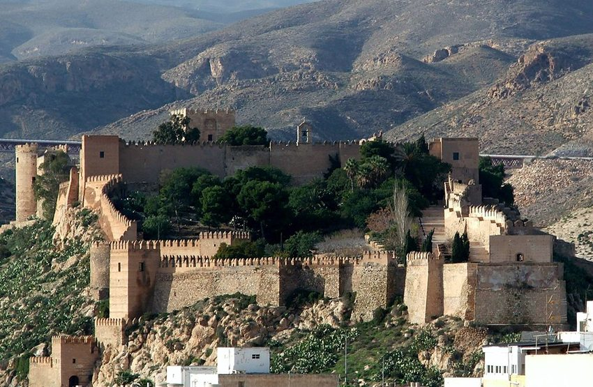 Alcazaba von Almería (Bild: ANE, Wikimedia, GNU)