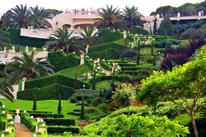 Bahai-Garten in Haifa (Bild: Judyboaz, Wikimedia, CC)