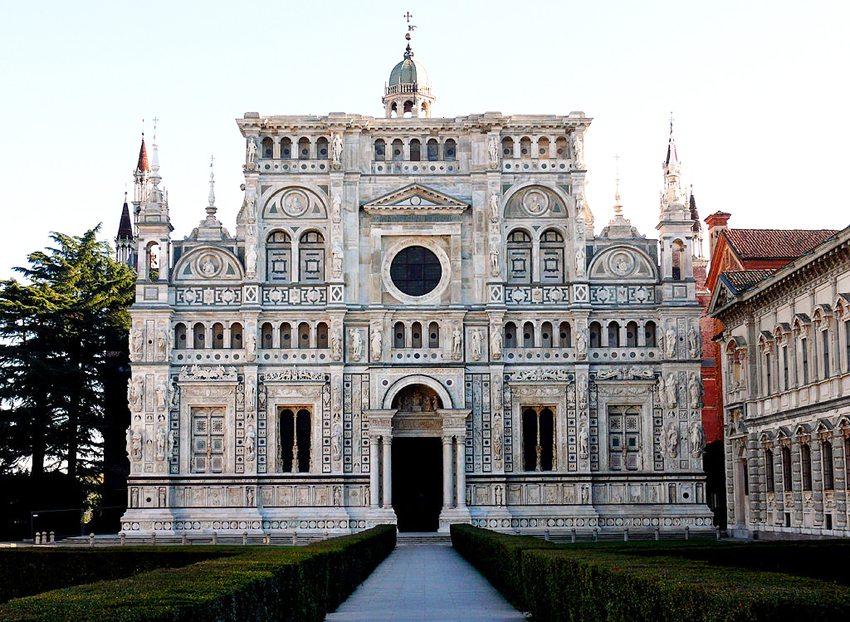 Die Karthause Certosa di Pavia (Bild: Ugo franchini, Wikimedia, CC)