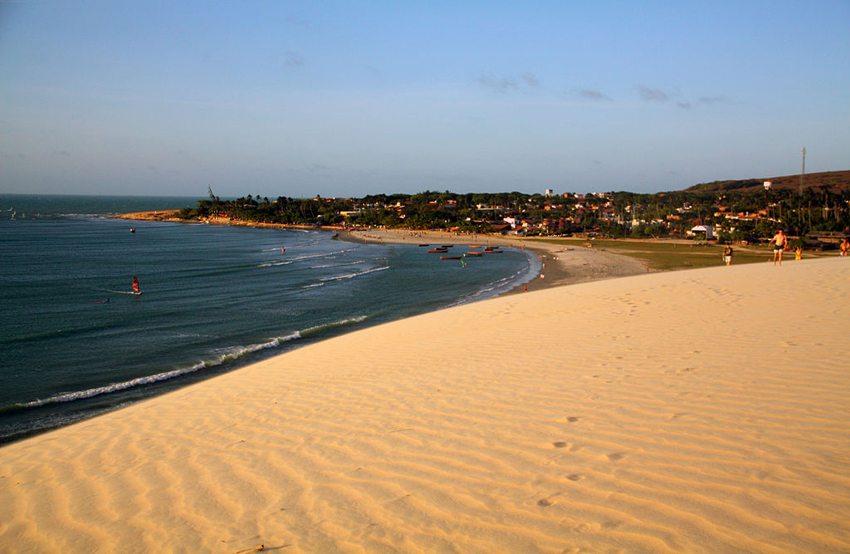 Praia de Jericoacoara in Ceará (Bild: idobi, Wikimedia, GNU)