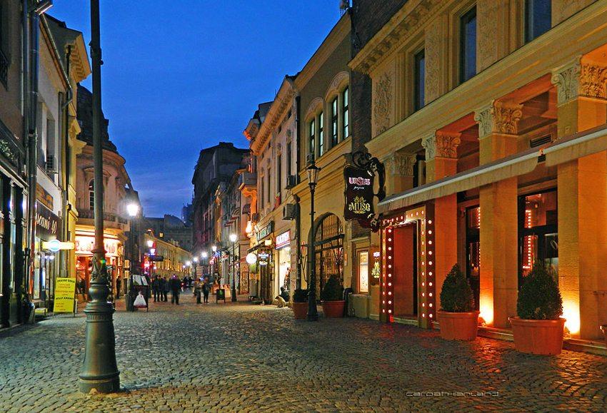 Strada Lipscani in Bukarest (Bild: CARPATHIANLAND, Wikimedia, CC)