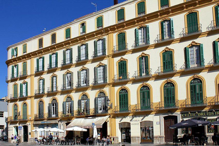 Geburtshaus von Pablo Picasso in Málaga (© Dominik, Wikimedia, CC)