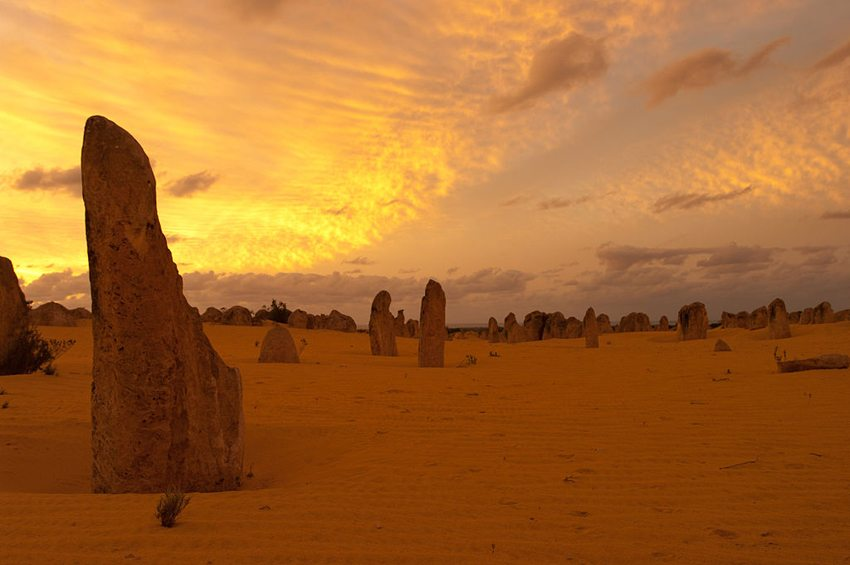 Nambung-Nationalpark in Australien (Bild: Gnangarra, Wikimedia, CC)