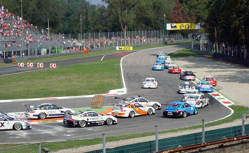 Das Autodromo Nazionale Monza – Porsche Mobil1 Supercup Finale in Monza 2012 (Bild: Rennstreckenderwelt, Wikimedia, CC)