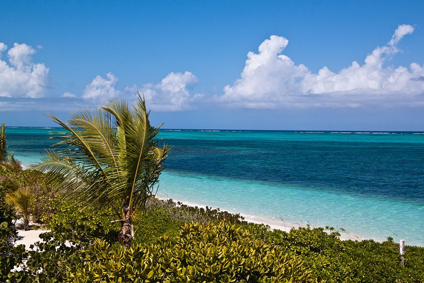 Turtle Cove Beach auf  (Bild: Tim Sackton, Wikimedia, CC)