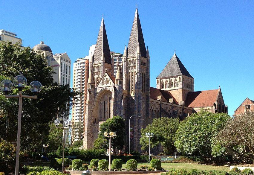 St John's Cathedral in Brisbane (Bild: Kgbo, Wikimedia, CC)