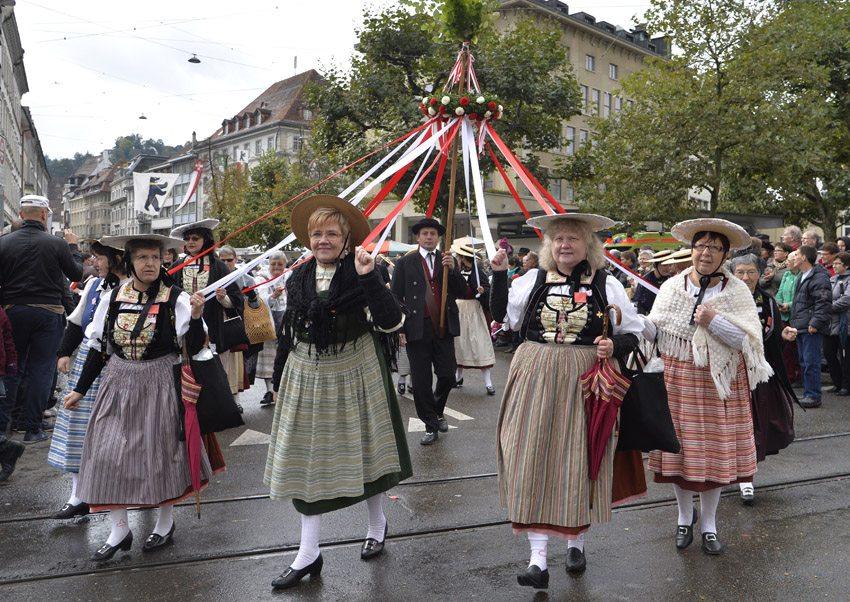 OLMA-Umzug (Bild: Genossenschaft Olma Messen St.Gallen)